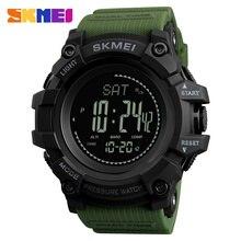 חדש גברים ספורט שעונים SKMEI מותג לחץ מצפן שעון מעורר כרונו דיגיטלי שעוני יד 30M Waterproof Relogio Masculino