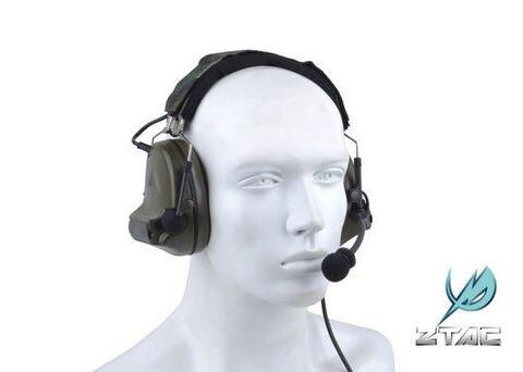 z tactical elemento artes tatico comtac ii headset reducao de ruido com a orelha copo