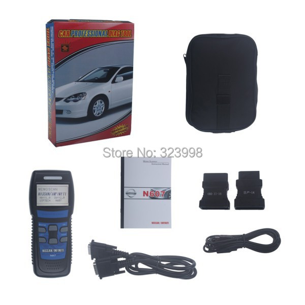 DHL Freeshipping Professional OBD2 Tool N607 Scanner for Car Diagnostic Tool with High Quality with best price
