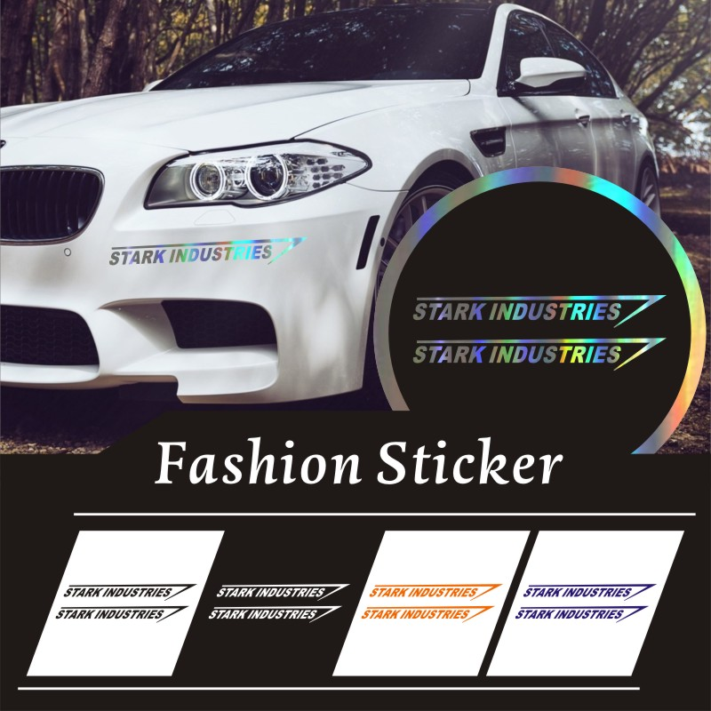 CAR STICKERS HOME Stark Industries Car Decal//Sticker by World Design