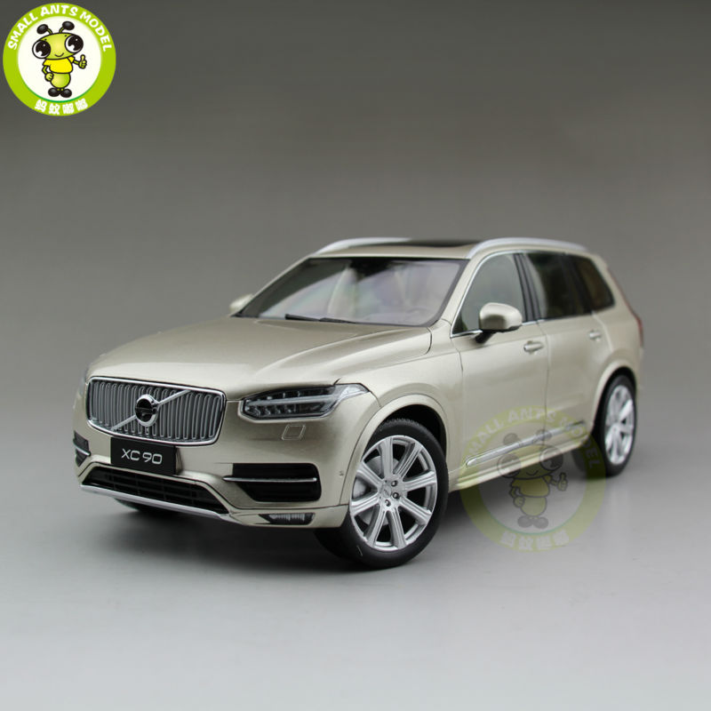 1/18 Volvo XC90 2015 SUV Diecast Model Car SUV Gold edaohang e53 5 touch screen lcd wince 6 0 gps navigator w fm 8gb black