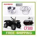 Поршневое кольцо булавка полный комплект CF500 CFMOTO ср мото мотоцикл 500cc ATV UTV аксессуары