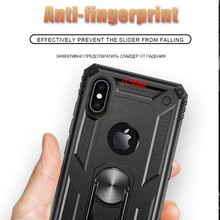 Luxury Armor Soft Shockproof Case On The For IPhone XR XS Max X Silicone Bumper Case For IPhone 6 6s 7 8 Plus Metal Ring Case