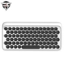 LOFREE точка Bluetooth механическая клавиатура Беспроводной подсветкой круглая кнопка для IPad/iPhone/Macbook/PC компьютер/Android Планшет