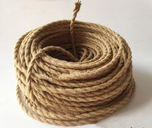 Леска для люстры проволока из пеньковой веревки/двойной витой