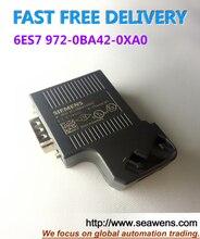 6ES7 972-0BA42-0XA0 , 6ES7972-0BA42-0XA0 , 6ES79720BA420XA0 PROFIBUS Connector New and Original ,Free Shipping