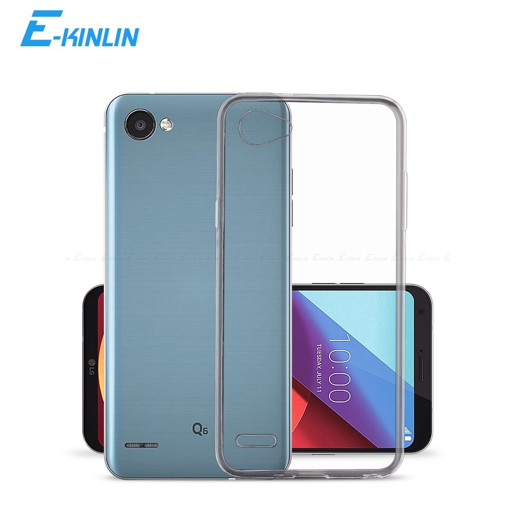 Clear Soft Full Cover For LG Q8 Q7 Q60 Q70 Q6 Q6a G8X G8S G7 G6 G5 V60 V50S V50 V40 V35 V30 V30S Plus Thinq Ultra Thin TPU Case