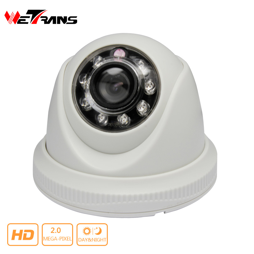 ФОТО Cheap AHD /CVI /TVI Camera 1080P Mini Dome SONY Sensor Plastic AHD Camera 2.0MP Indoor 8m Night Vision High Definition Kamera