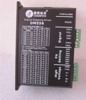DM556 2 phase stepper motor driver stepping motor controller microstep resolution 128 voltage 24 50 VDC Max current 5.6A