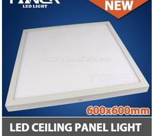 2ft X 2ft Ultra Thin Edge-Lit 48W LED Flat Panel Light Residential Flushmount Surface Mount/ Commercial Drop Ceiling