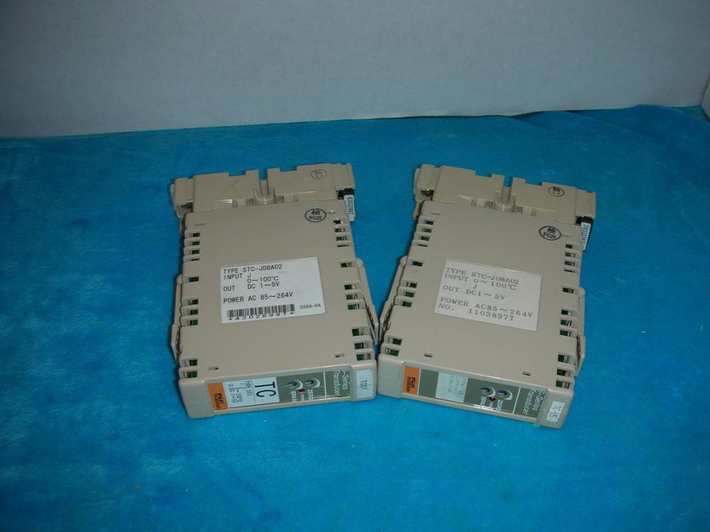 1PC USED Fuji STC-J08A02 FUJI 1pc used fatek pm fbs 14mc plc