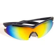 Велосипедные очки мужской Для женщин спортивные Sunglesses работает военные Стиль солнцезащитные очки Авиатор желтый Tac очки как видно на ТВ