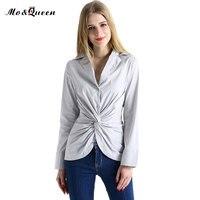 Casual Kink Women Tops 2016 Autumn Fashion White Shirt Women S Clothing New Long Sleeve Blouse