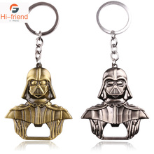 2018 Star Wars Keyring Black Darth Vader Pendant KeyChain For Man Gift Party Gifts Souvenir decoration