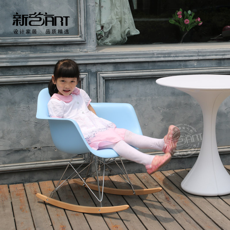 Eames Rocking Chair Nursing Feeding Chair Leisure Chair Designer Simple  Fashion Creative Personality Rocking Chair Outlet In Shampoo Chairs From  Furniture ...