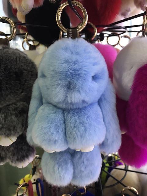 Super Rabbit Rabbit Pendant  Bunny Rabbit Fur car pendant decoration free shipping promotional gift business gift around 15cm