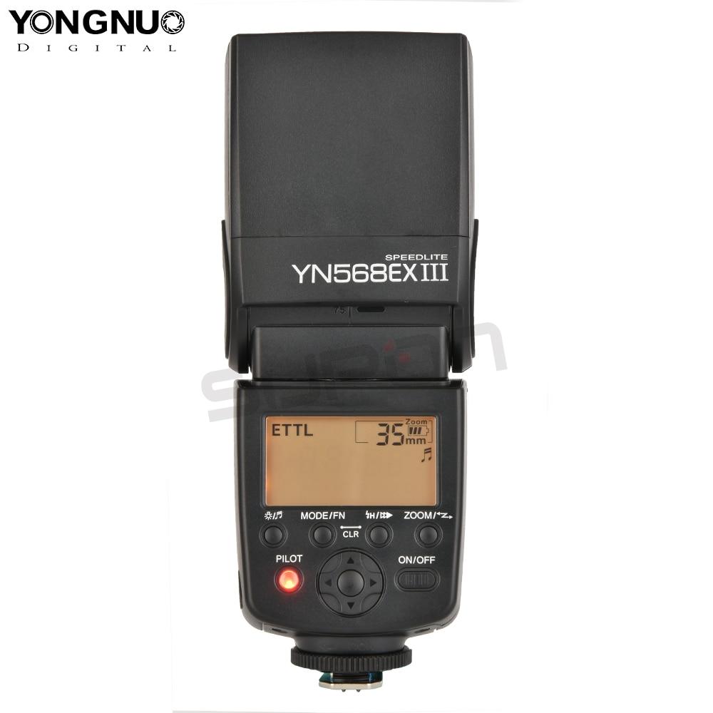 Yongnuo YN-568EX III YN568EX III Sans Fil TTL HSS 1/8000 s Flash Speedlite Pour Canon 60d 550d 650d 5d mark iii 100d DSLR Caméra