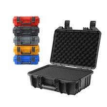 Boîte à outils de sécurité pour caméra, boîte à outils de sécurité, antichoc avec éponge, 350x280x133mm, boîte à outils boîte à outils en plastique