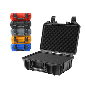 350x280x133mm Safety Instrument Tool Box Plastic Tool Case Equipment Camera Toolbox Dry Box Shockproof with sponge