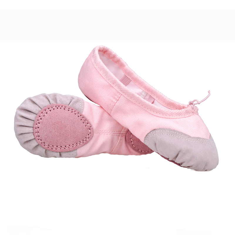 Girls Kids Pointe Shoes Dance Slippers High Quality Ballerina Boys Children Practice Shoes For Ballet 2