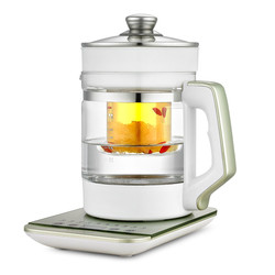 Electric kettle Curing pot Fully automatic thickened glass electric with multi-function and flower