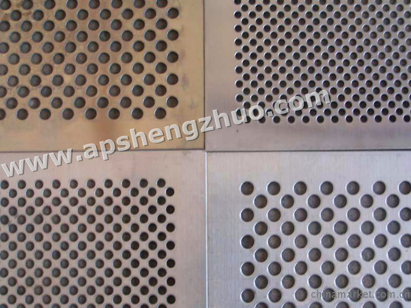 4.0mm Round Hol Punching Mesh Titanium Sheet Punching Filter Mesh Hotting Sales 500mm*1000mm