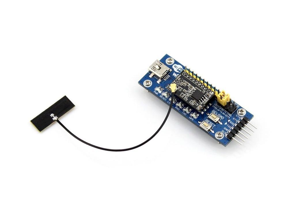 Parts LPT100 WiFi Module USB to UART USB Wifi Wireless Communication Development Board Evaluation Module Kit External Antenna