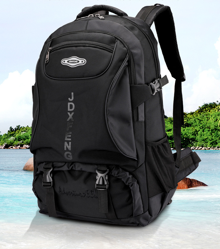 2019 Unisex Waterproof Backpack Travel Pack Sports Bag Pack Men Outdoor Mountaineering Hiking Climbing Camping Backpack For Male