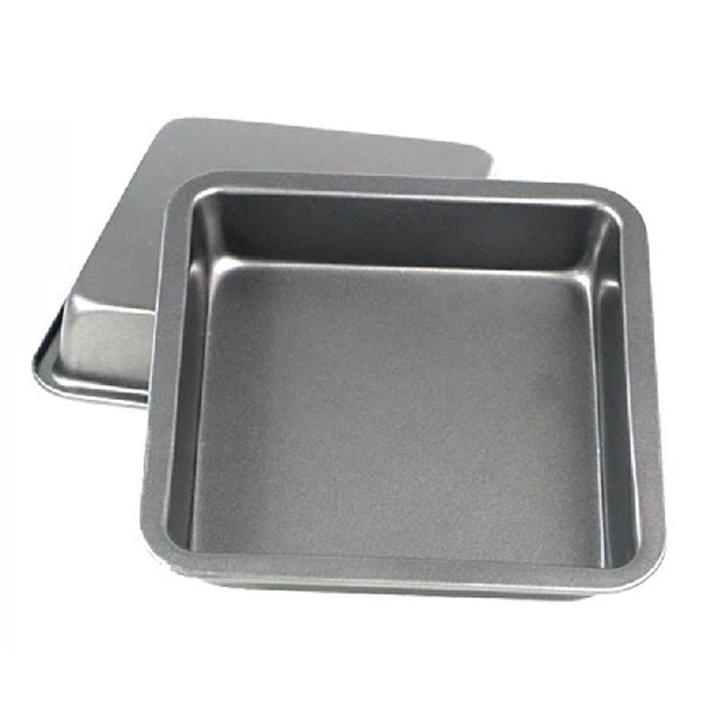 8 inch square baking pan Tray Oven Steel Trays Forms Pan Cookie Cake Pan Mold microwave dish baguette baking tray