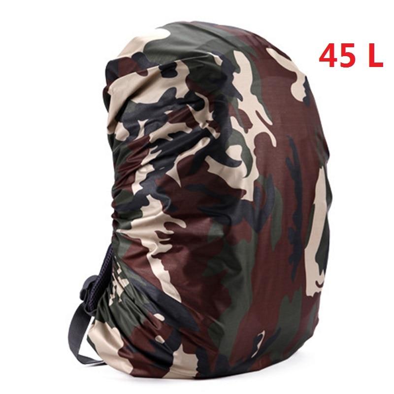 Mount Chain 35/45 л регулируемый водонепроницаемый рюкзак с защитой от пыли дождевик Портативный Сверхлегкий плечо защиты Открытый Инструменты для пешего туризма - Цвет: 45 liters 4