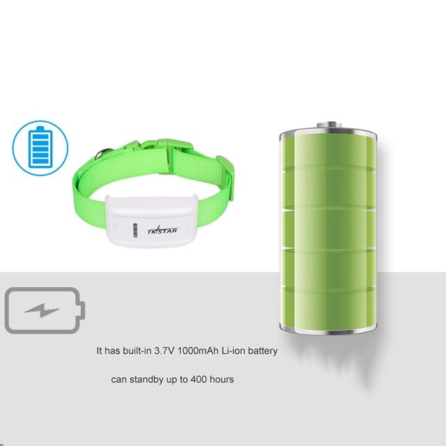 Dog GPS Tracker TK909 Waterproof IP65 Geofence Google Track GPS For Cat Collar Voice Monitor Mini GPS Locator For Dog FREE APP 5