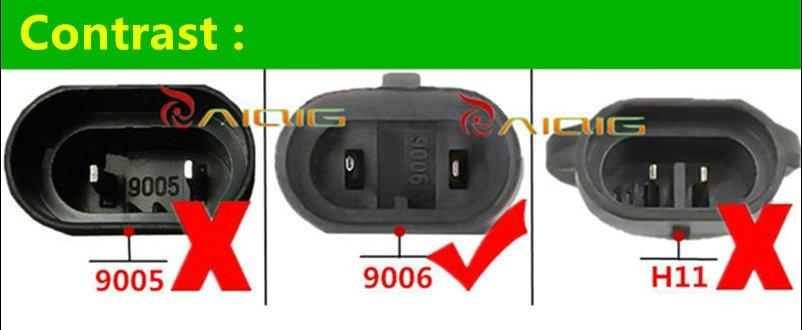 2pcs 9006 55W HB4 55W βολβοί αλογόνου σούπερ - Φώτα αυτοκινήτων - Φωτογραφία 5