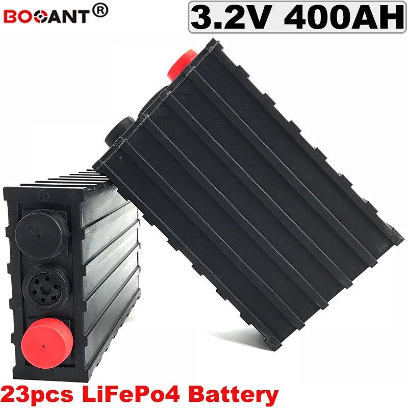 23pcs 60V 400Ah LiFePo4 Battery For Electric Bike, Solar Energy Storage DIY Lithium Battery 3.2V 12V 24V 36V 48V 60V 72V battery