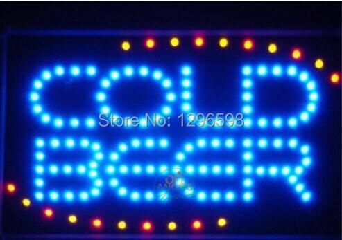 CHENXI nouveauté graphiques 19X10 pouces BAR à bière froide magasin Led animé mouvement néon signe en gros
