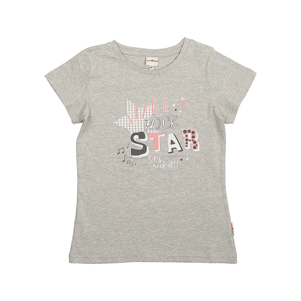T-Shirts Frutto Rosso for girls FRG72156 Top Kids T shirt Baby clothing Tops Children clothes kids outfits letter pattern t shirts in white