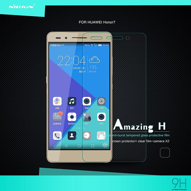 Nillkin Amazing H Anti-Explosion 9H Screen Protector For Huawei Honor 7 Honor7 Enhanced Edition Tempered Glass 0.3mm Thin