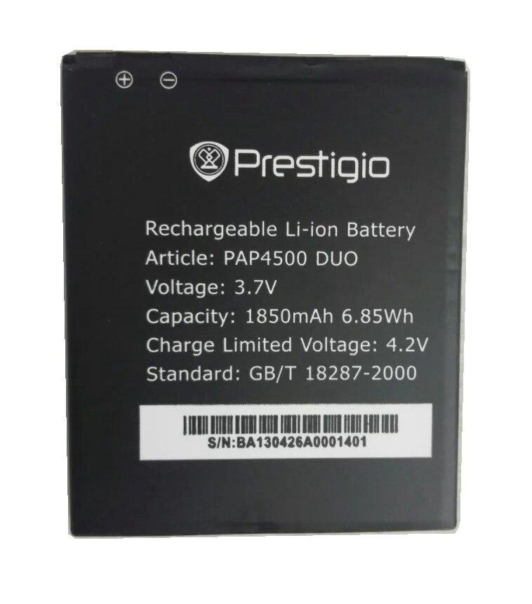 Pap4500 Duo <font><b>4500</b></font> 1850 мАч высокое качество MULTIPHONE Замена литий-ионная Батарея для Prestigio MULTIPHONE Батарея pap4500 Duo