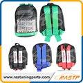 RASTP-Nuevo Estilo JDM Novia Racing Mochila de Tela Mochila Bolso de Escuela de Diseño Especial Nueva Moda LS-BAG008
