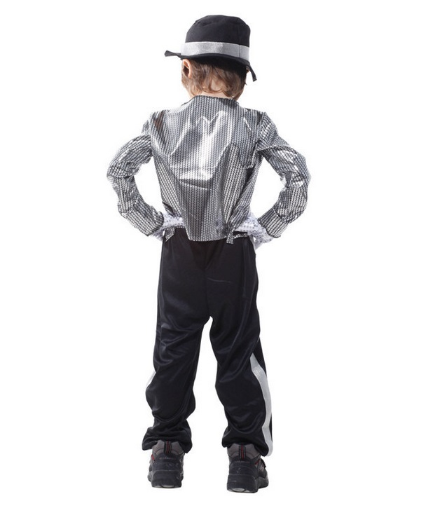 a9a5a7edd7c07 michael jackson jackets costumes for kids billie jean clothing boys glove  costume fedora hat black halloween girls kid children-in Holidays Costumes  from ...