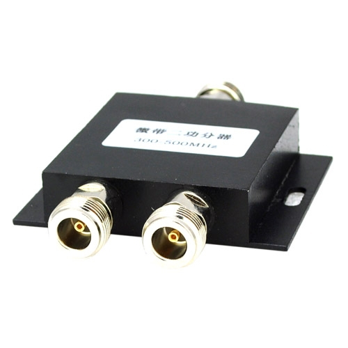 2 Way N Female Type Power Splitter 300-500Mhz Walkie-talkie Booster Divider Repeater Splitter For Booster Repeater