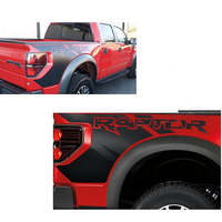 Auto Body Rear Tail Side Trunk Vinyl Decals Raptor Graphics SVT Sticker For Ford F150 2009