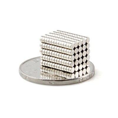 1000 Pcs Super Strong Round Disc 2 x 1 mm Magnet Rare Earth Neodymium N35 100pcs 5 mm x 1 mm 5 1 disc powerful magnet craft magnet neodymium rare earth neodymium magnet n35 n35 holds 290g