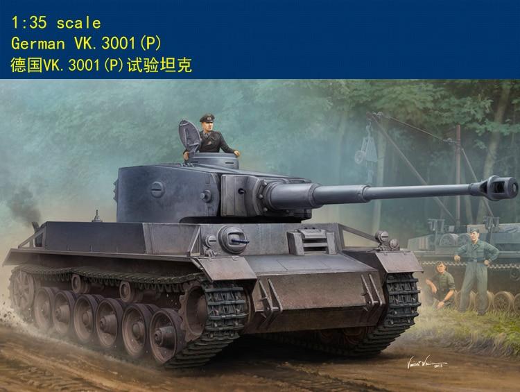 HobbyBoss 1/35 83891 German VK.3001(P) Tank Military Plastic Assembly Model Kit