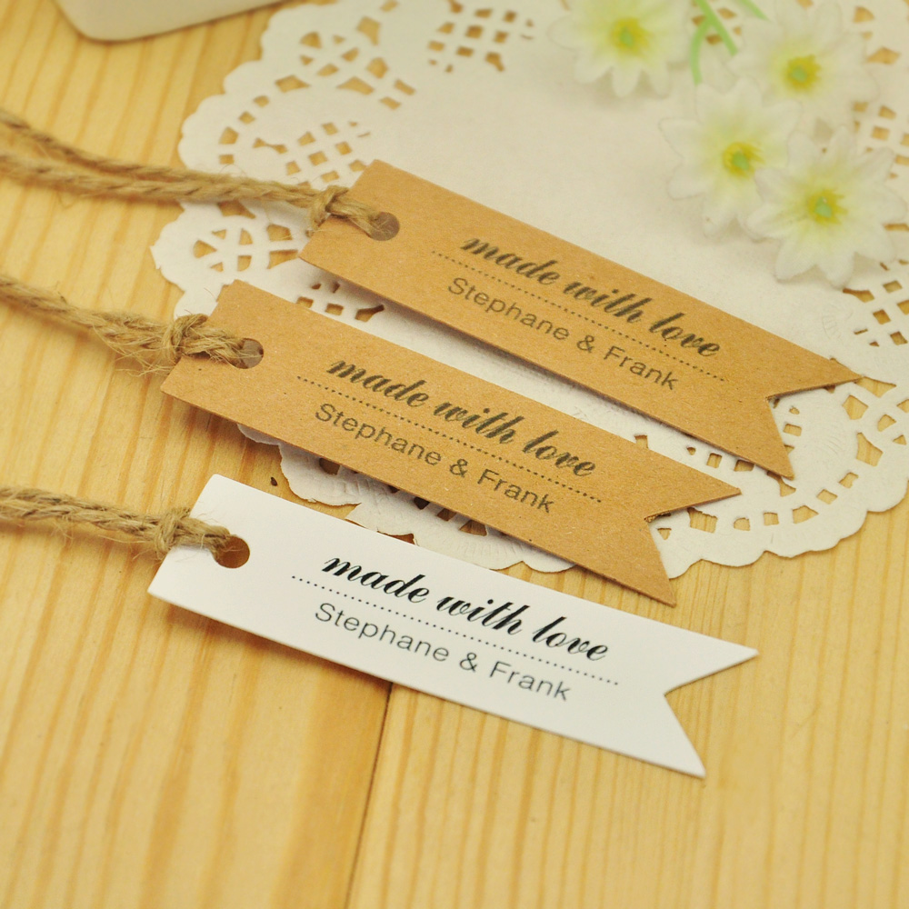 Custom Gift Tags Pennant