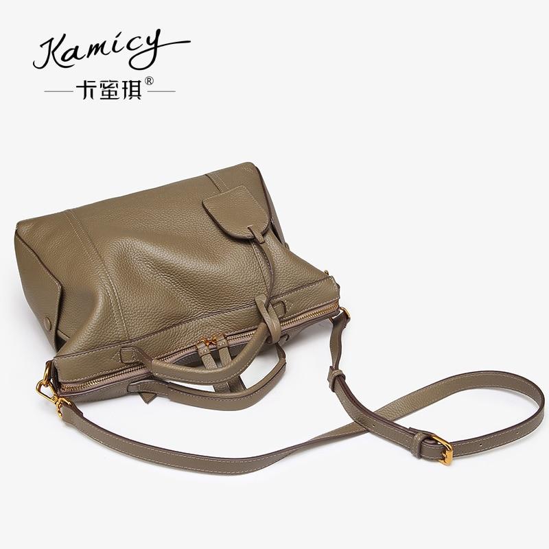 d4089f7333cd Kamicy 2018 best selling new Korean handbag style handbag elegant fashion  lady slant bag casual leather handbag youth-in Shoulder Bags from Luggage    Bags ...