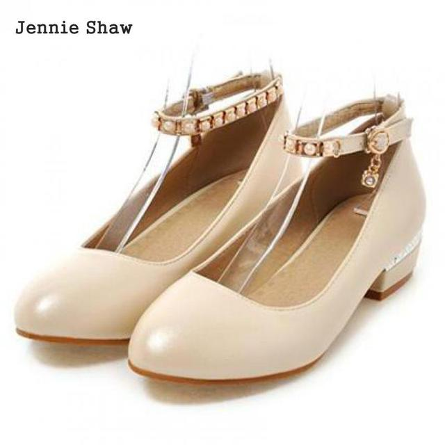 Work Shoes Beige Ol Professional Womenu0027s White Low Heel Women Wedding Shoes  Sys 1642