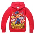 Cotton Long-sleeved Children's T-shirts Sweatshirts For Boys Cartoon Casual Kids Hooded Girls Tops Tees Fashion Clothing Costume
