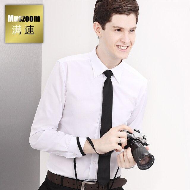 Мужские рубашки осень с рукавом мужской деловой свободного покроя формальные мода мужской тонкий мужская одежда
