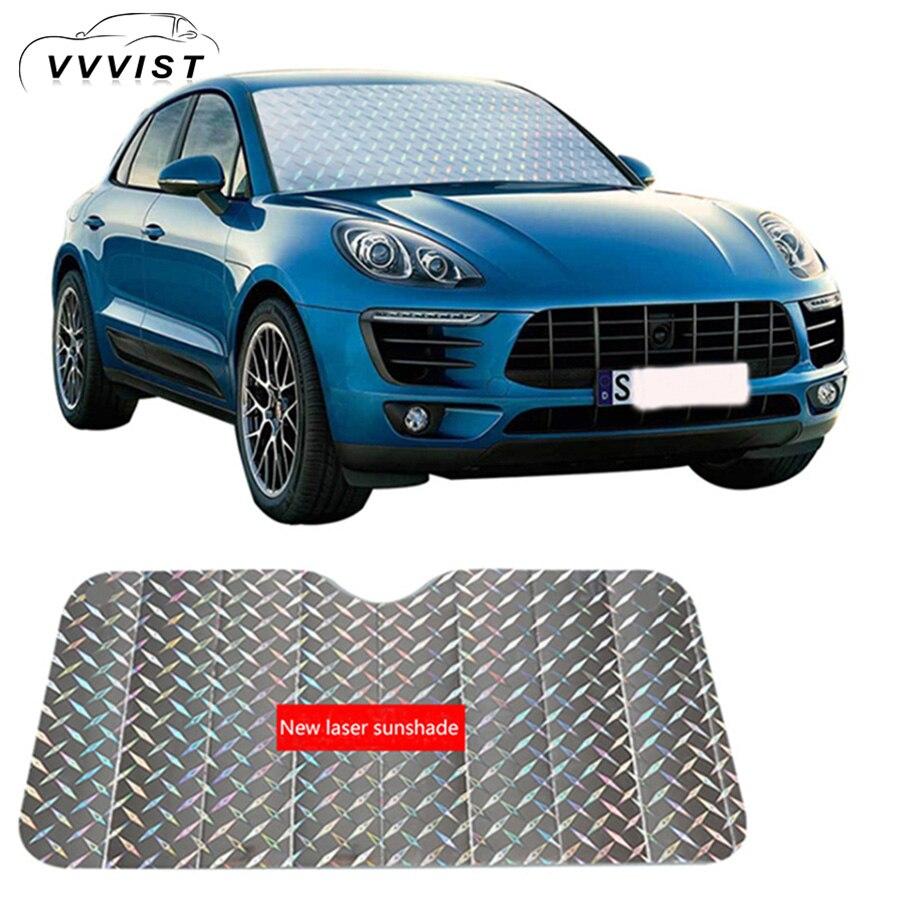 2018 VVVIST Car Window Sunshade Front File Windshield Sunshade Sun  Protection Suitable Multiple Types Car Windshield Sun Shade e2b2cc64b58