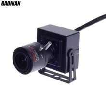 Gadinan Mini ONVIF 2MP 1080P DSP Hi3516C+SC2035 POE IP Camera H.264  Securiy P2P CCTV 2.8-12mm Zoom Lens Network Camera Metal